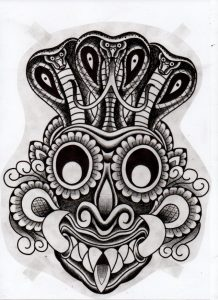tattoo design and black and grey tattoo style